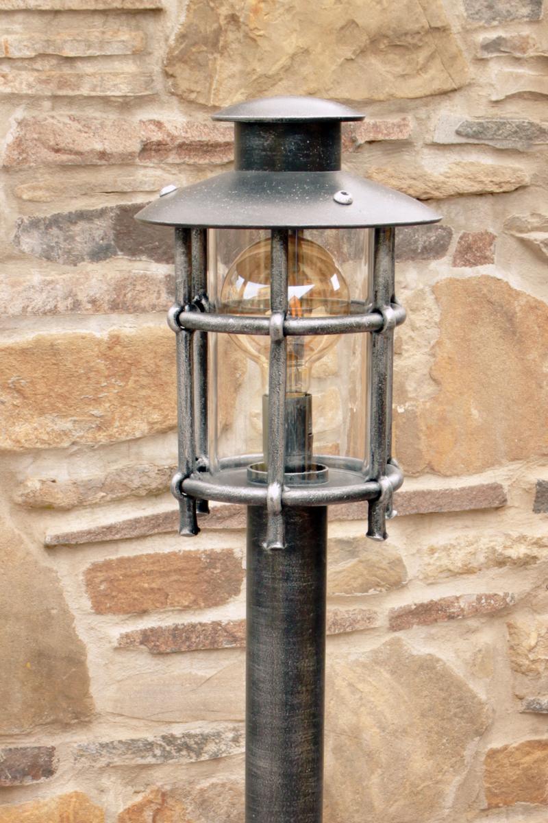 Kované stojanové svietidlo KLASIK/T - záhradné svietidlo