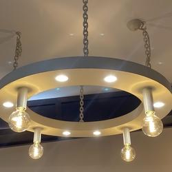 Kovaný dizajnový luster - originálne závesné svietidlo