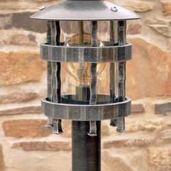 Kované stojanové svietidlo HISTORIK - záhradné svietidlo