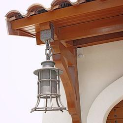 Závesné svietidlo KLASIK ZVON - kované exteriérové svietidlo