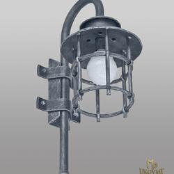 Nástenné svietidlo -  kovaná lampa KLASIK - exteriérové svietidlo