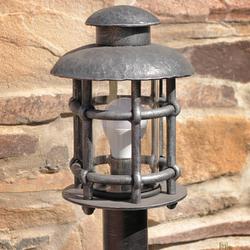 Stojanové svietidlo – kovaná lampa KLASIK malý - záhradné svietidlo