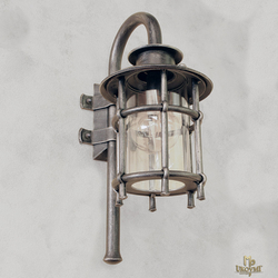 Kované nástenné svietidlo KLASIK/T - exteriérová lampa