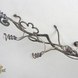 Moderné svietidlo – kovaný luster KOREŇ - exkluzívne interiérové osvetlenie