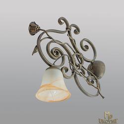 Nástenné - bočné kované svietidlo – RUSTIKÁL 1 - interiérová lampa