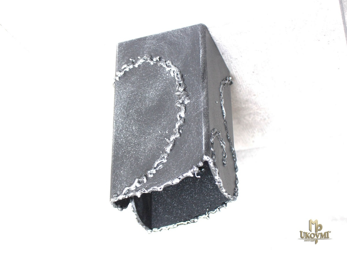 Kvalitné ručne kované svietidlo IDEÁL - dizajnové stropné tienidlo
