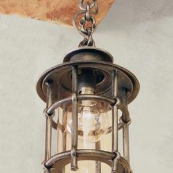 Exkluzívne svietidlo KLASIK/T vhodné na osvetlenie exteriérových priestorov - luxusné svietidlo ručne vykované v UKOVMI