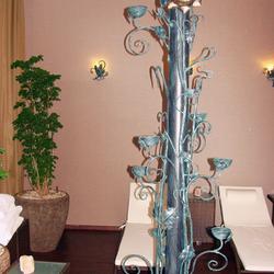 Luxusné svietidlá a svietnik z UKOVMI ako výnimočné osvetlenie wellness - Grand Hotel Praha v Tatrách