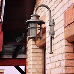 Osvetlenie rodinného domu s exkluzívnym nástenným svietidlom KLASIK - exteriérové svietidlá