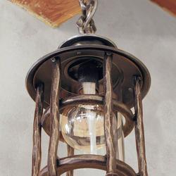 Exkluzívne závesné svietidlo BABIČKA vo vidieckom štýle do altánku, na terasu, k vstupu do budov...