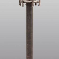 Luxusná záhradná lampa BABIČKA vo vidieckom štýle - vonkajšie stojanové svietidlo