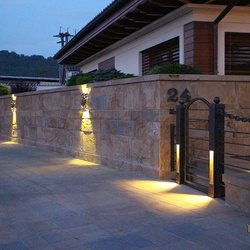 Luxusné exteriérové svietidlá - tienidlá - osvetlenie vstupu k rodinnému domu - moderné osvetlenie v kovanom štýle