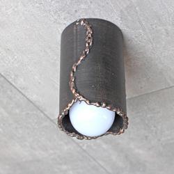Umelecké stropné svietidlo ručne vykované umeleckými kováčmi - kvalitné svietidlo vyrobené na Slovensku