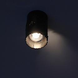 Nočný pohľad na stropné svietidlo IDEÁL - moderné osvetlenie