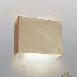 Ručne vyrobené exkluzívne svietidlo s logom UKOVMI - tienidlo v modernom štýle