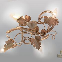 Stropné svietidlo VINIČ - každý kus je originálny, prispôsobený potrebám a vkusu klienta