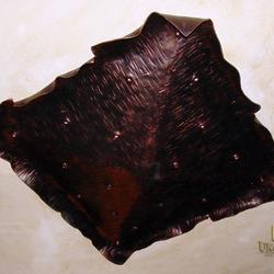 Historické svietidlo vo vínnej pivnici - interiérové kované svietidlo - originálne kvalitné tienidlo