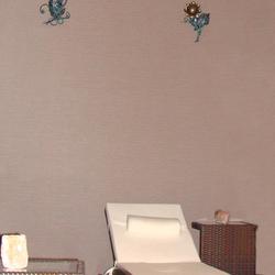 Luxusné lampy tvorené pre interiér - ručne kované nástenné svietidlá s prírodným motívom