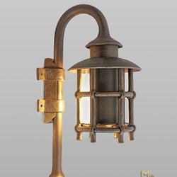 Luxusné lampy - výnimočné kované svietidlo na bočné osvetlenie budov, altánkov, terás, garáží...