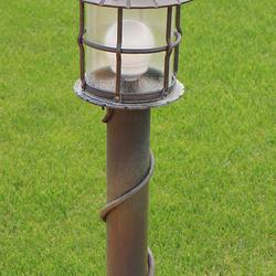 Záhradné stojanové svietidlo KLASIK - ručne vykovaná lampa umeleckými kováčmi v UKOVMI